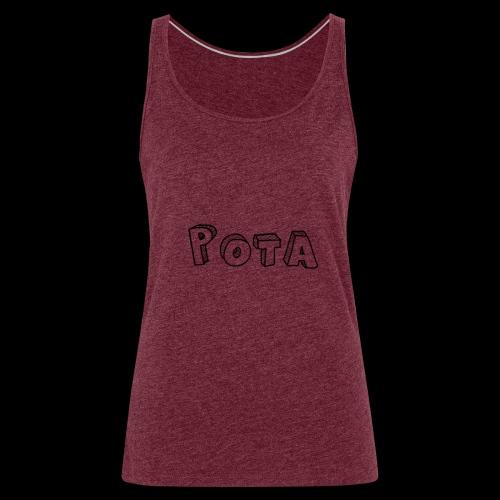 pota1 - Canotta premium da donna