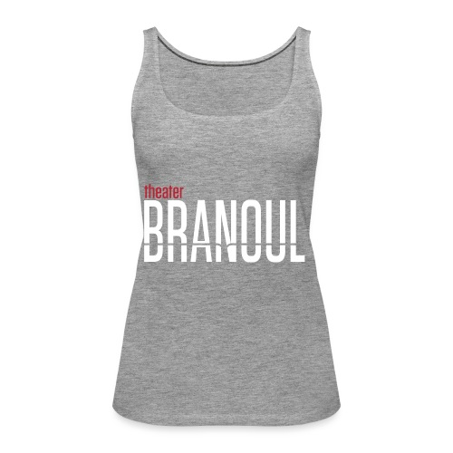 Branoul Logo rood wit - Vrouwen Premium tank top