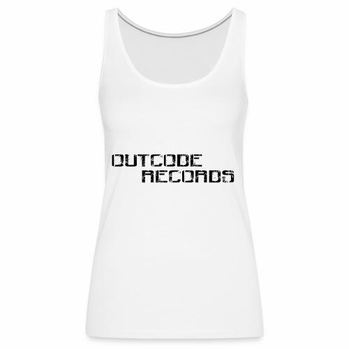 Letras para gorra - Camiseta de tirantes premium mujer