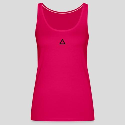Triangle - Canotta premium da donna