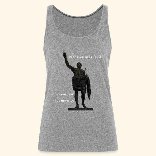 Nada es más fácil - Camiseta de tirantes premium mujer