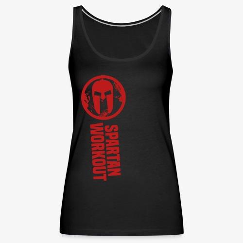 spartan workout - Women's Premium Tank Top