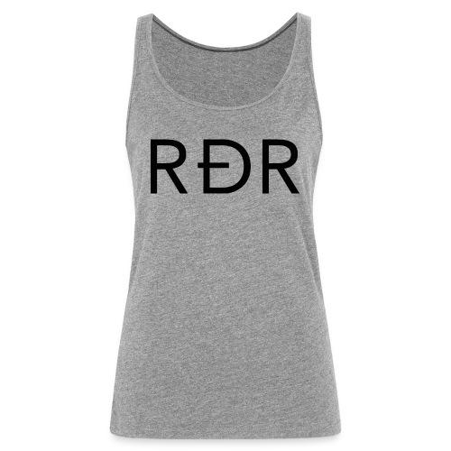 RDR Black - Débardeur Premium Femme