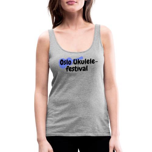 Oslo Ukulelefestival - Premium singlet for kvinner