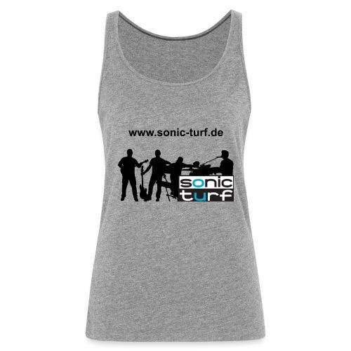 bandkollage schriftoben - Frauen Premium Tank Top