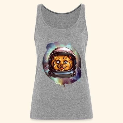 Space Katze - Frauen Premium Tank Top