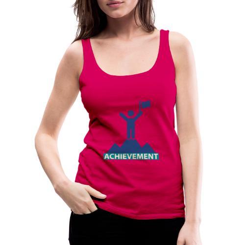 Typo Achivement by CloudMonde - Women's Premium Tank Top