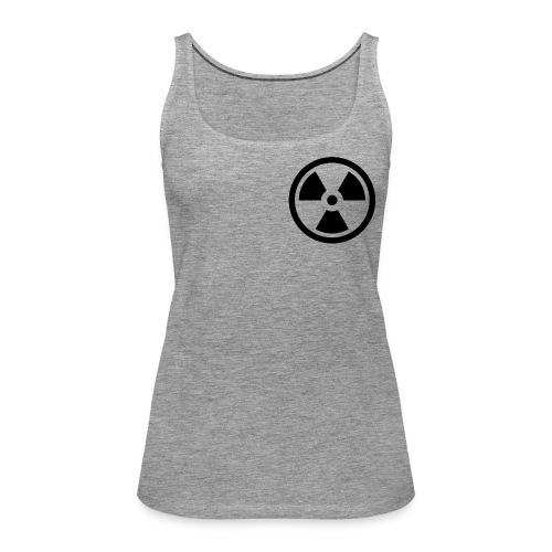 military bomb nuclear danger bomb radioactive - Women's Premium Tank Top