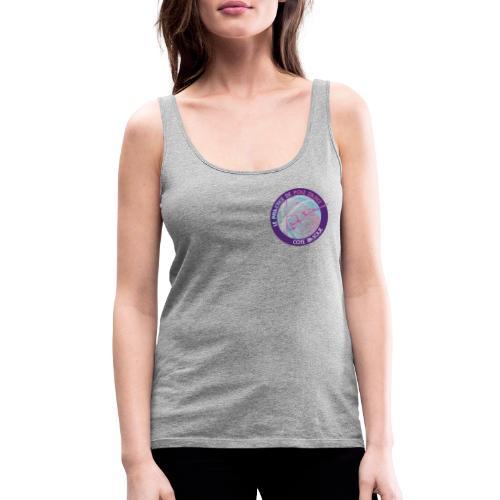 Logo poledance violet - Débardeur Premium Femme