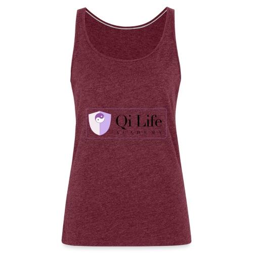 Qi Life Academy Promo Gear - Women's Premium Tank Top