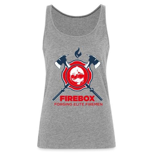 Firebox version fond clair png - Débardeur Premium Femme