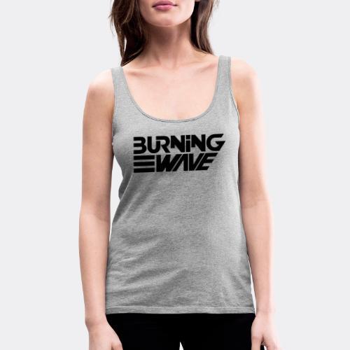 Burning Wave Block - Débardeur Premium Femme