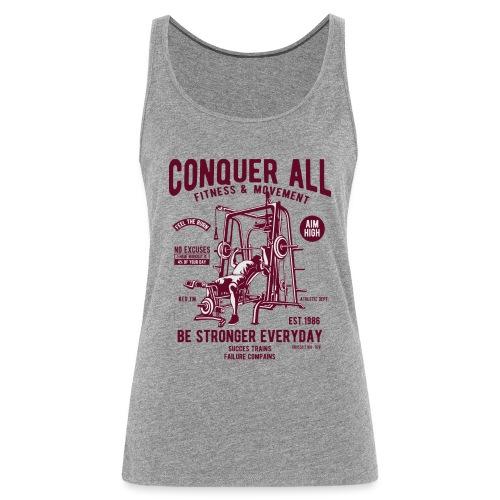 Conquer All2 - Débardeur Premium Femme
