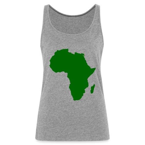 African styles green - Women's Premium Tank Top