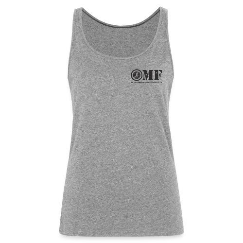 OMF black logo - Women's Premium Tank Top
