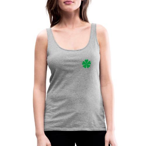 Trébol minimalista - Camiseta de tirantes premium mujer