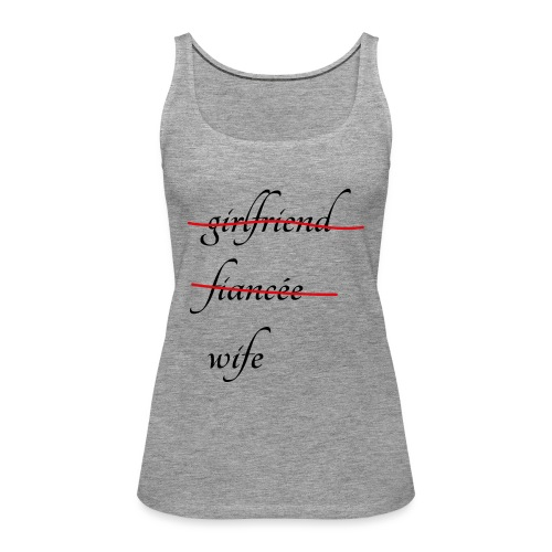 Wife - Frauen Premium Tank Top
