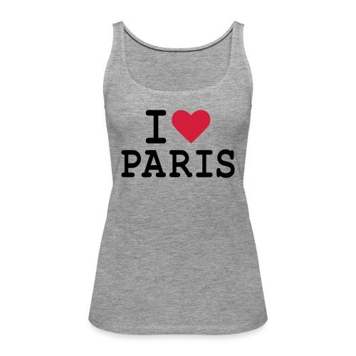 I Love Paris 1 - Débardeur Premium Femme