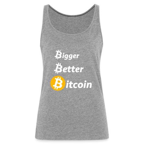 Bitcoin Slogan - Frauen Premium Tank Top