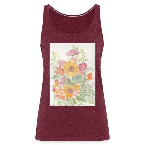 Flowers - Canotta premium da donna