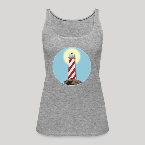 Lighthouse day - Canotta premium da donna