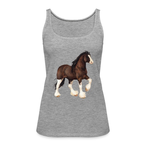 Shire Horse - Frauen Premium Tank Top