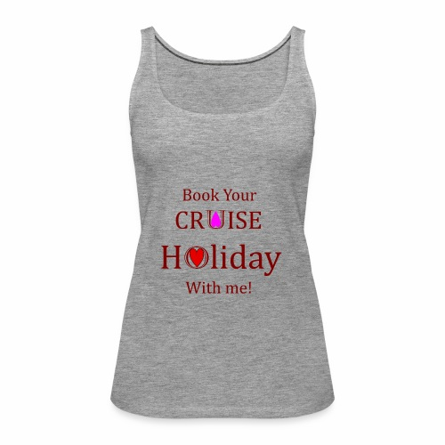 Book your Holiday 1 - Women's Premium Tank Top