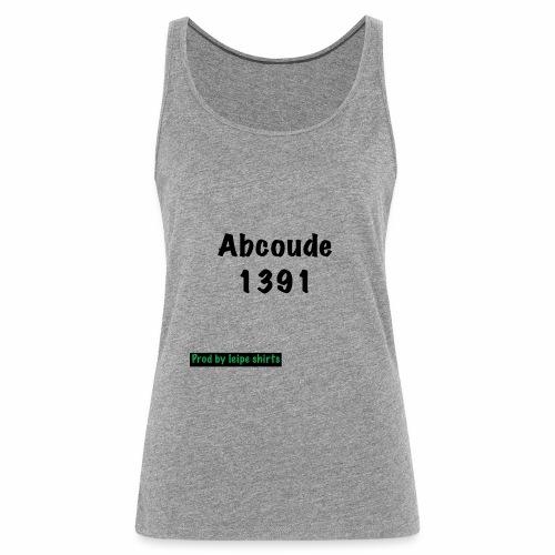Abcoude post code merk - Vrouwen Premium tank top