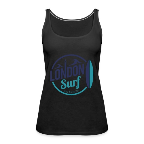 London Surf Classic Logo - Women's Premium Tank Top