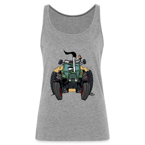 0163 F - Vrouwen Premium tank top