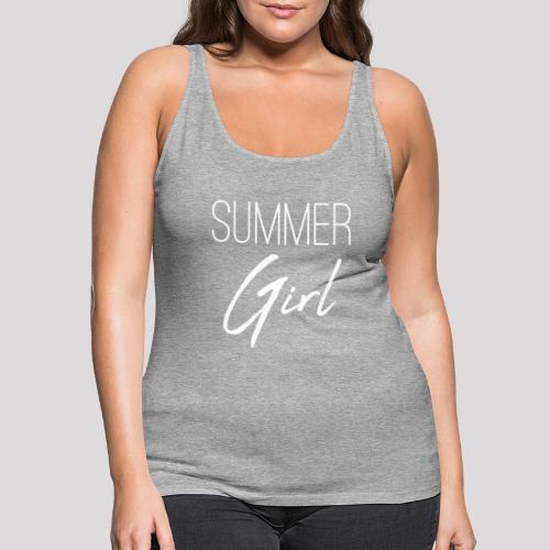 Summer Girl - Das Motiv für den Sommer - Frauen Premium Tank Top
