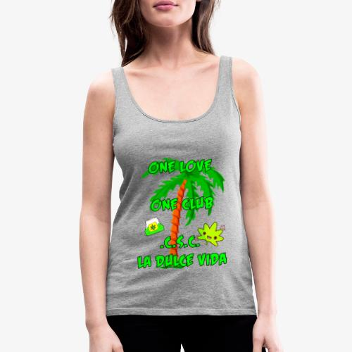 one love , one club - Frauen Premium Tank Top