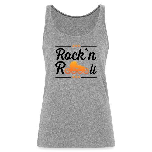 Rockn Roll Faerbig - Frauen Premium Tank Top