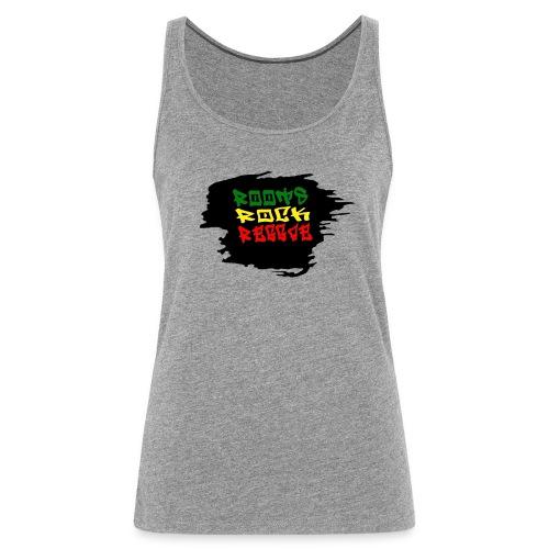 roots rock reggae - Débardeur Premium Femme