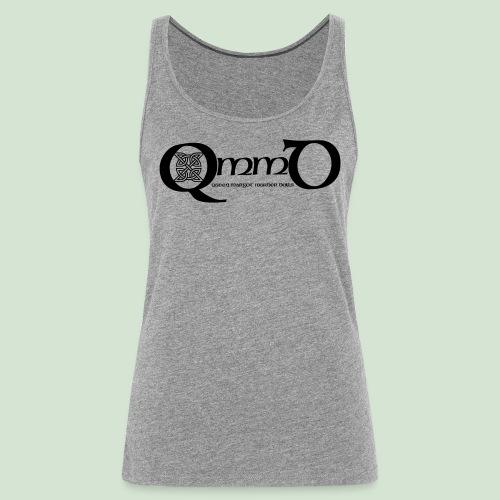 QmmD Logo Black - Frauen Premium Tank Top