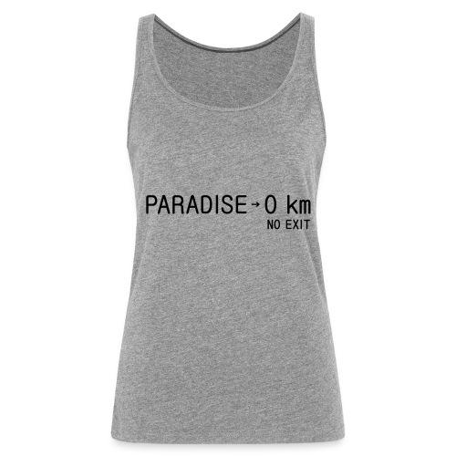 paradise0km - Frauen Premium Tank Top