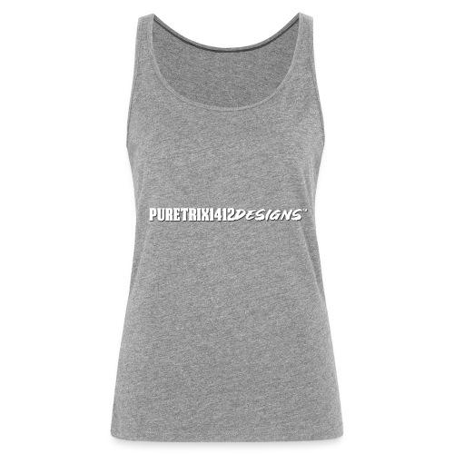 PuretrixTextLogo3 - Frauen Premium Tank Top
