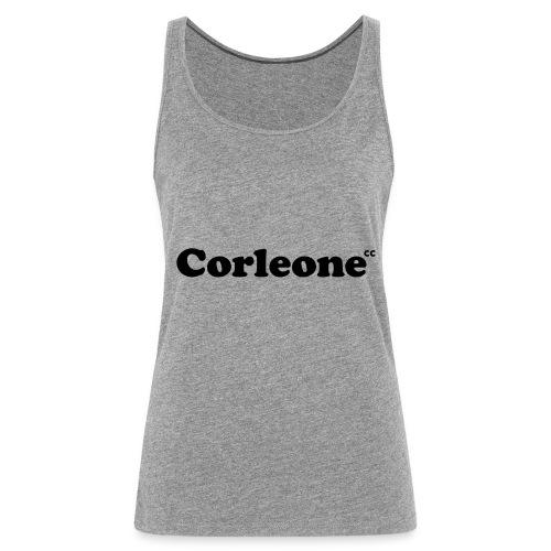 schrift corleone - Frauen Premium Tank Top