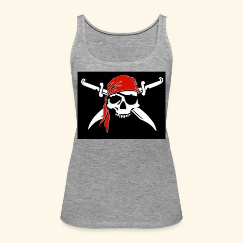 Bones Flag - Camiseta de tirantes premium mujer