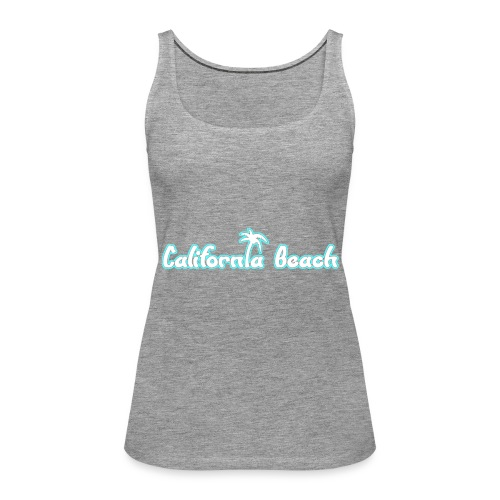 California Beach - Premiumtanktopp dam