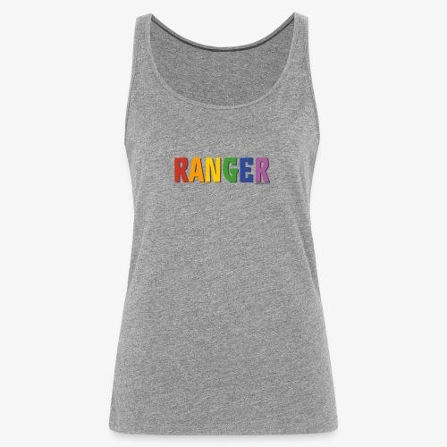 Ranger Pride (Rainbow) - Women's Premium Tank Top