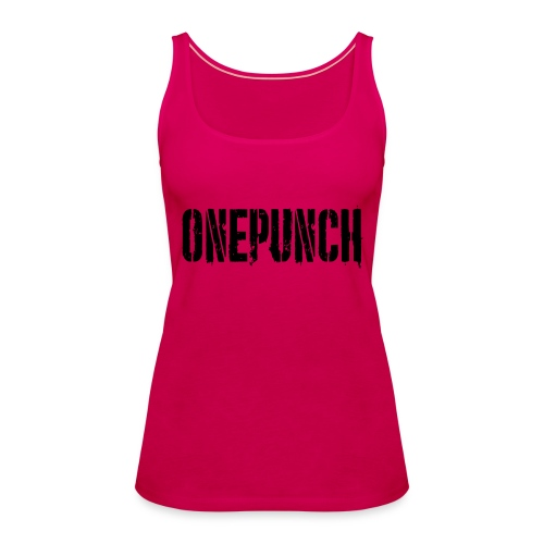 Boxing Boxing Martial Arts mma tshirt one punch - Women's Premium Tank Top