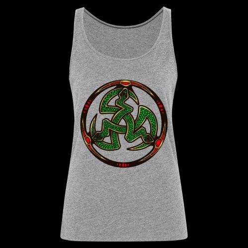 Serpent Triskellion - Women's Premium Tank Top