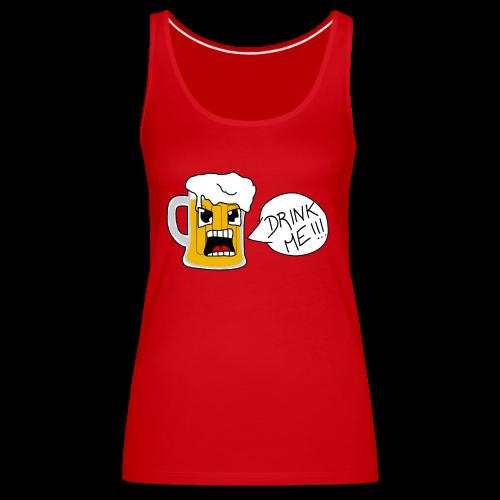 Bière - Débardeur Premium Femme