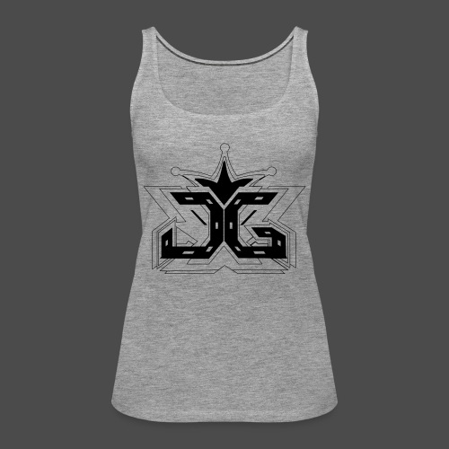 LOGO OUTLINE SMALL - Women's Premium Tank Top