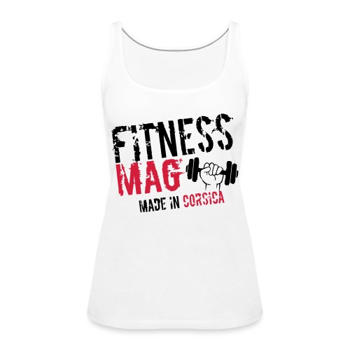 Fitness Mag made in corsica 100% Polyester - Débardeur Premium Femme
