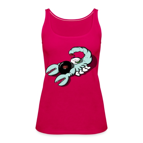 Space Scorpions?! (Colour) - Women's Premium Tank Top