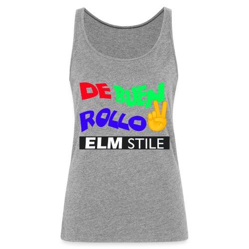 DE BUEN ROLLO - Camiseta de tirantes premium mujer