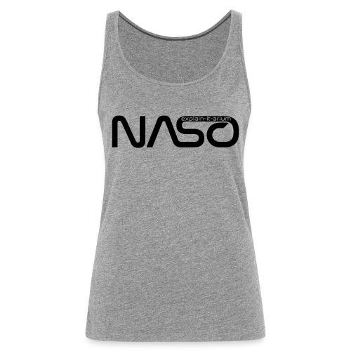 Naso-NASA1 - schwarz - Frauen Premium Tank Top