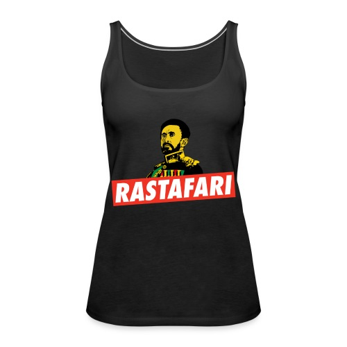 Rastafari - Haile Selassie - HIM - Jah Rastafara - Frauen Premium Tank Top